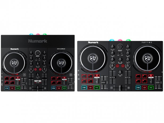 Numark Party Mix Live and Party Mix II
