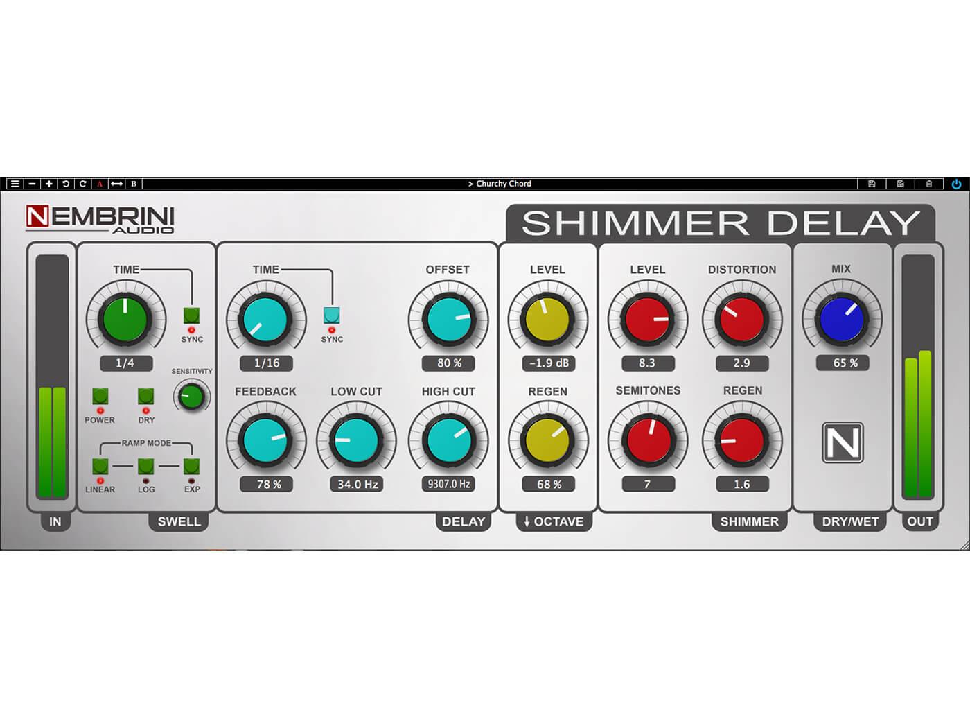 Nembrini Audio Shimmer Delay Ambient Machine