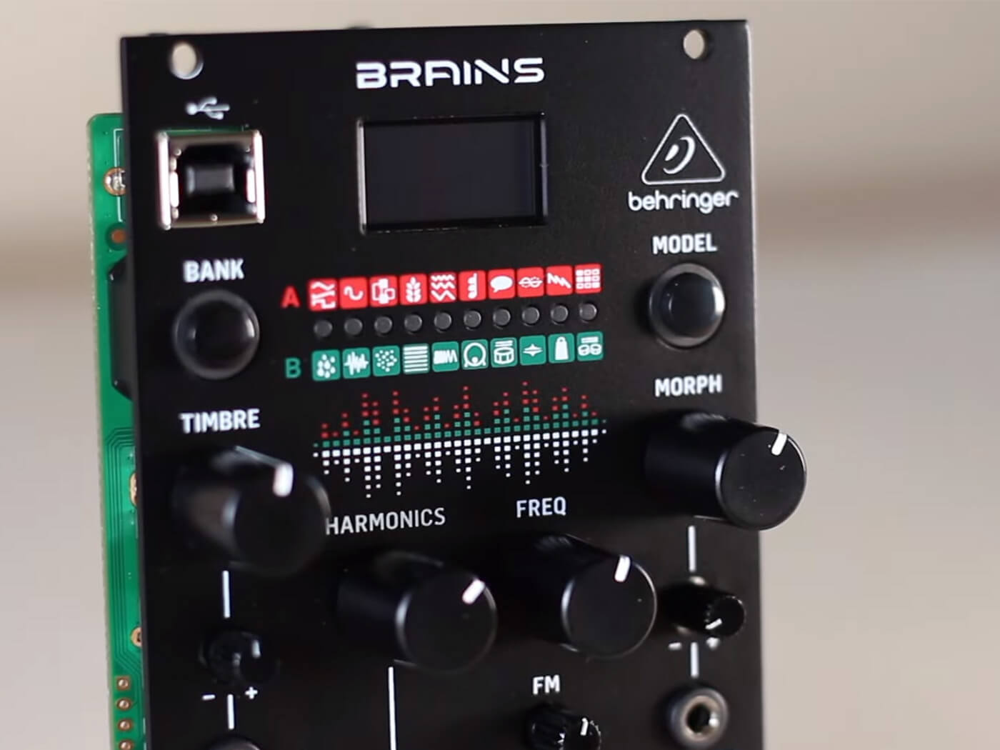 Behringer Brains is a Eurorack multi-engine oscillator with 20 synth engines | MusicTech