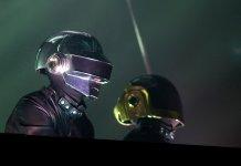 Daft Punk onstage