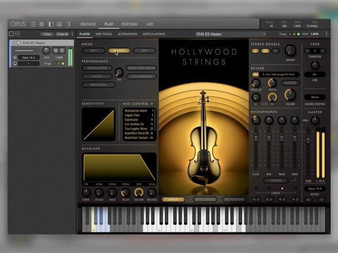 EastWest Hollywood Strings OPUS