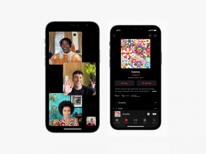 FaceTime and Apple Music