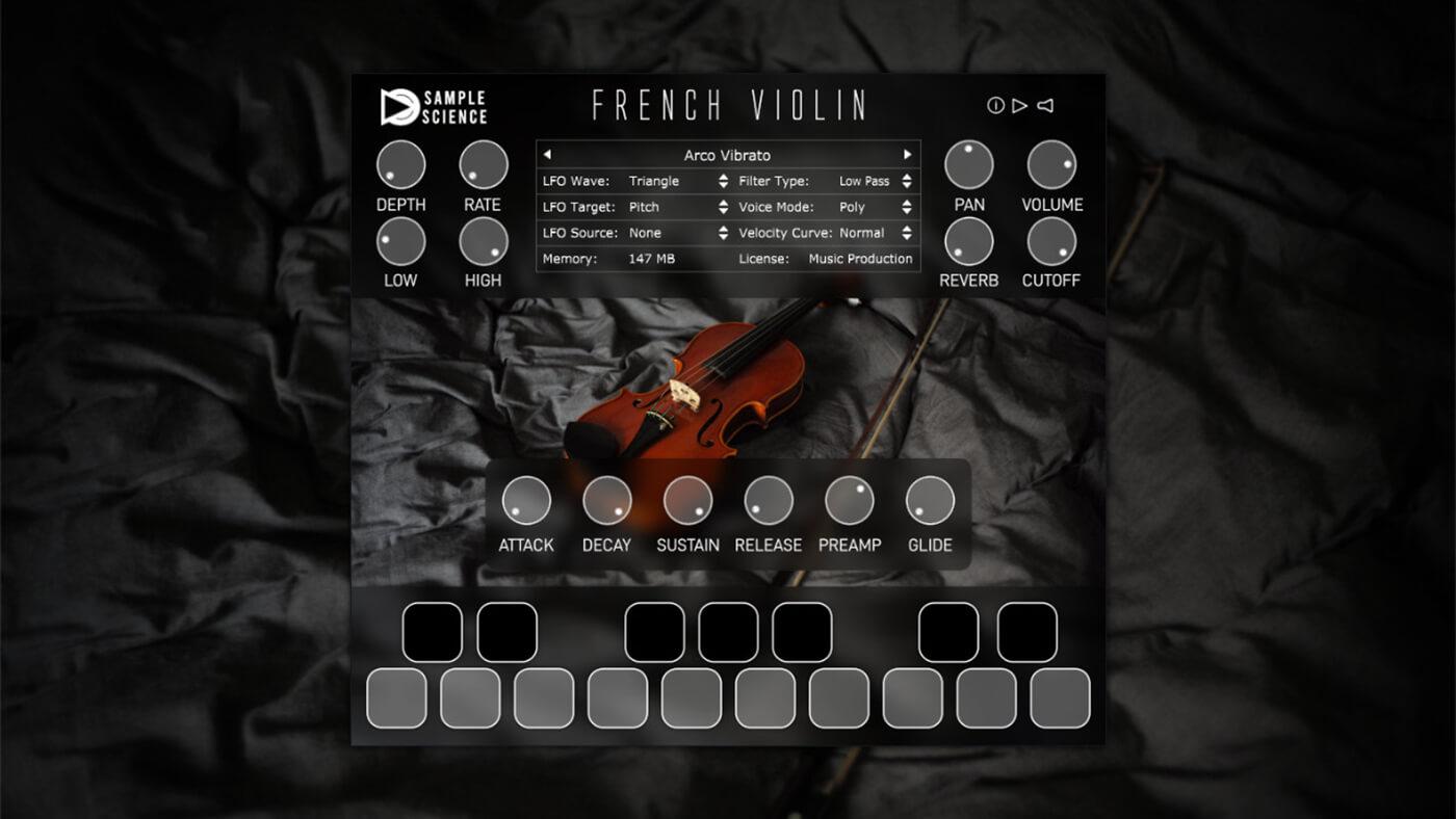 Sample Science French Violin