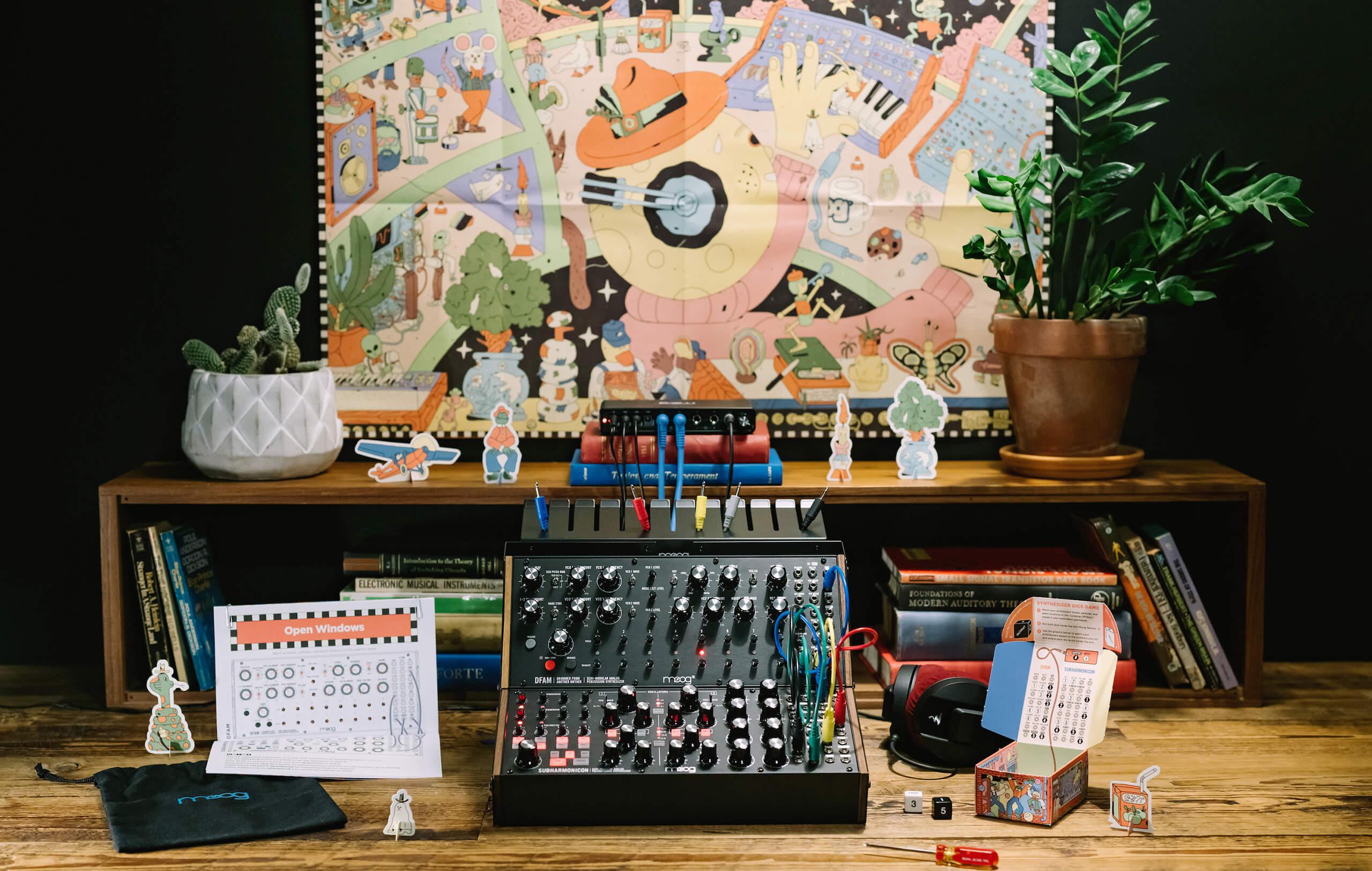 Moog Sound Studio: Subharmonicon & DFAM