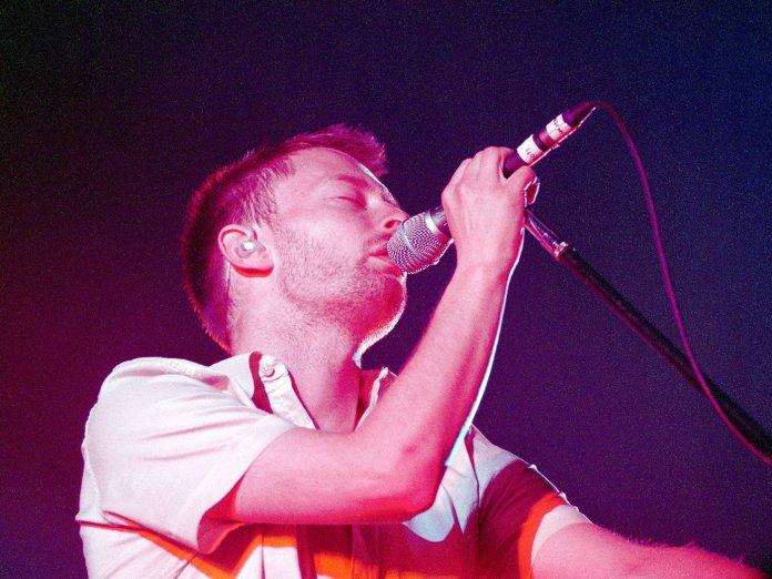 Thom Yorke Radiohead Kid A 2000