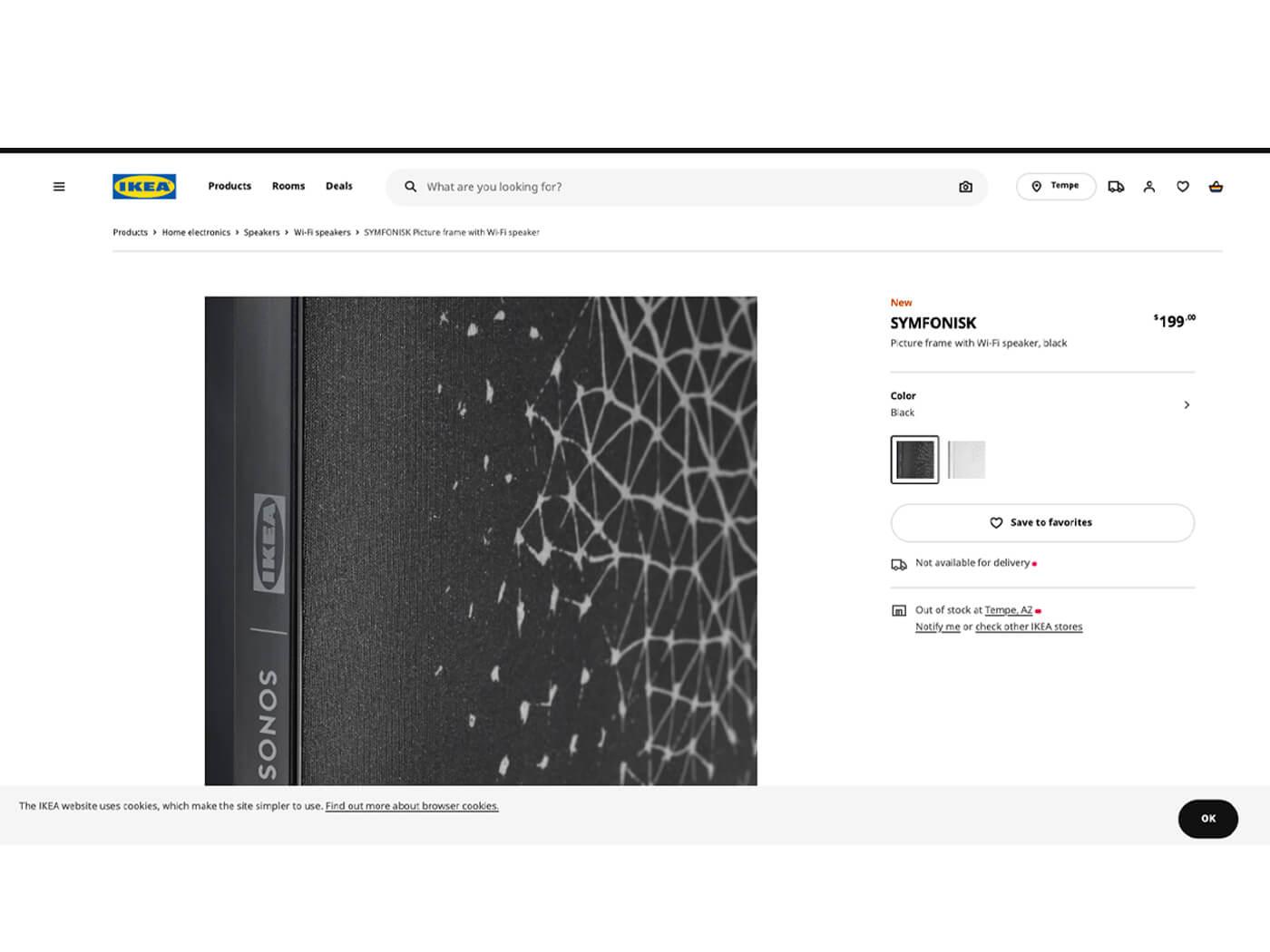 Ikea Symfonisk Website picture frame wall speaker