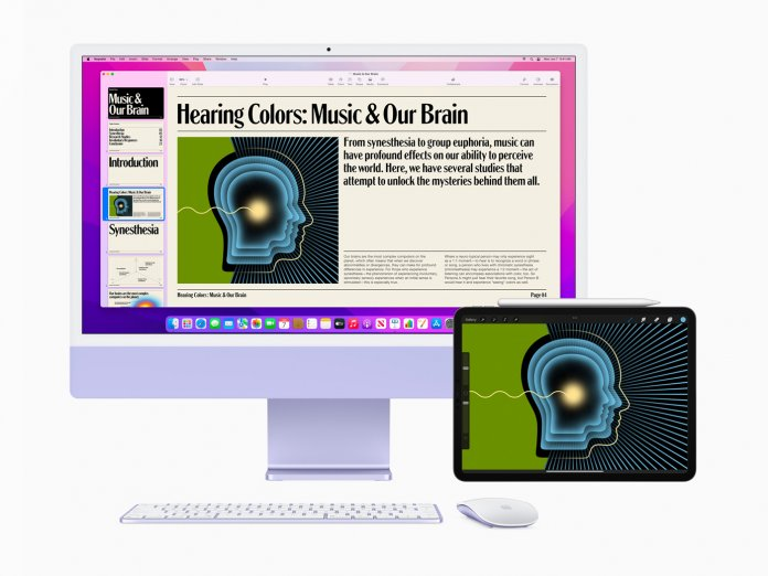 macOS Monterey Universal Control
