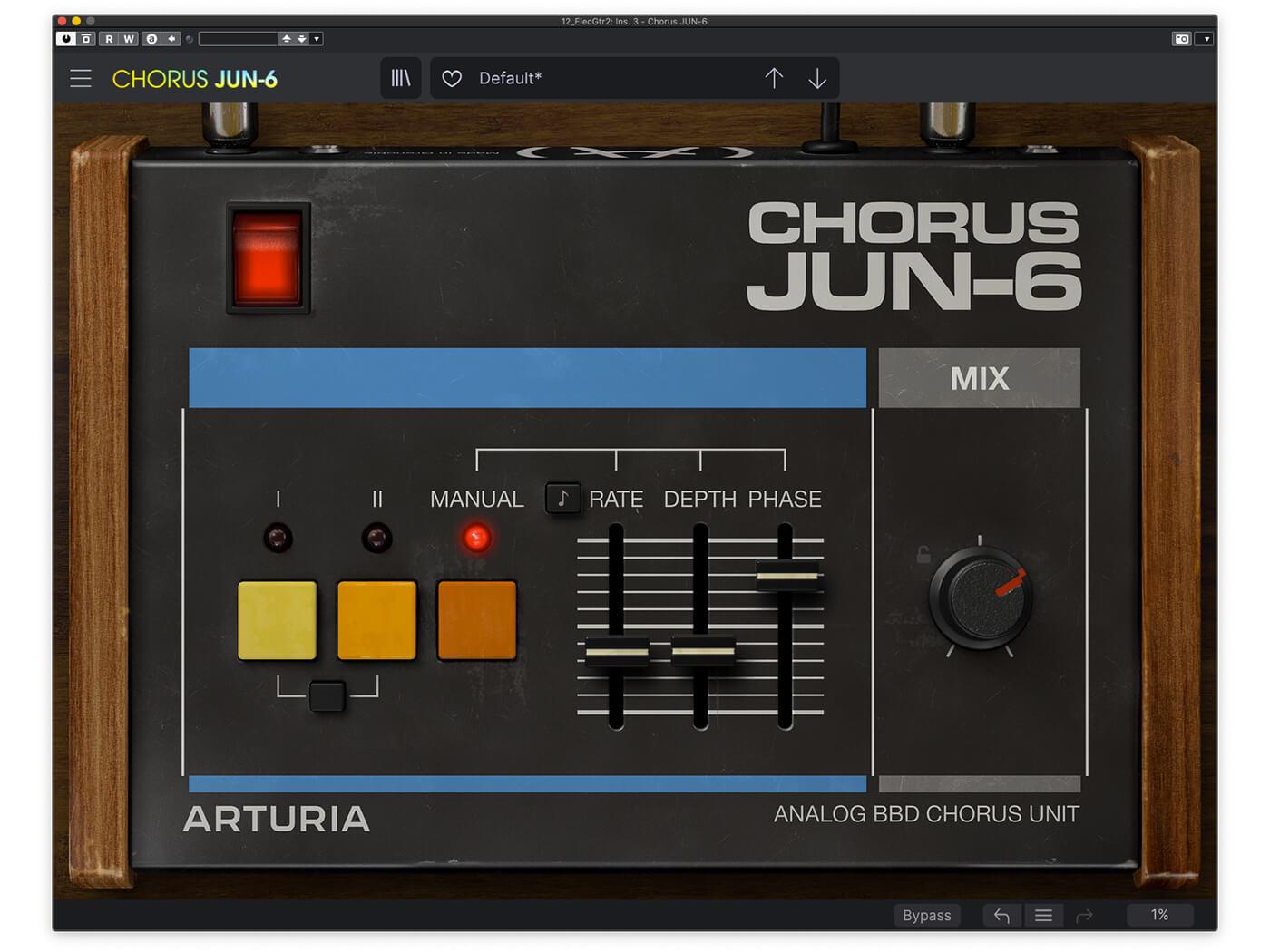 Arturia FX Collection 2 Chorus JUN-6