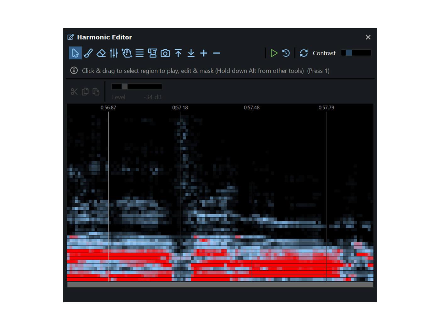 Hitnmix DeepAudio Harmonic Editor