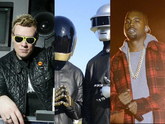 Daft Pink, Liam Howlett and Kanye West
