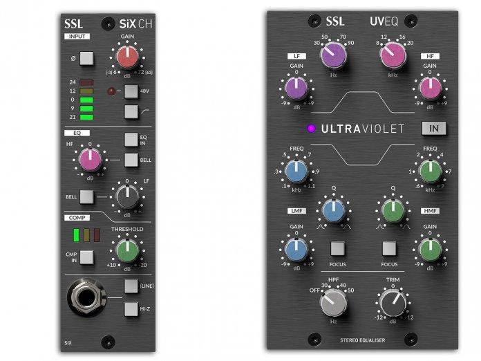 SSL SiX Channel & Ultraviolt EQ