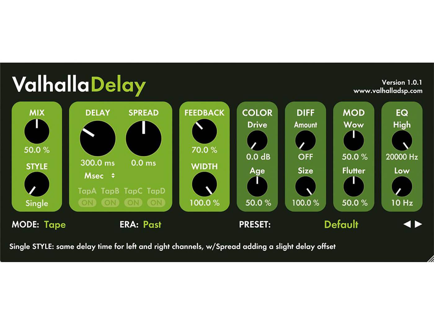Valhalla Delay
