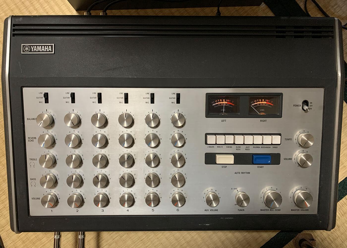 Analogue Sound With Vintage Mixer - Mixer