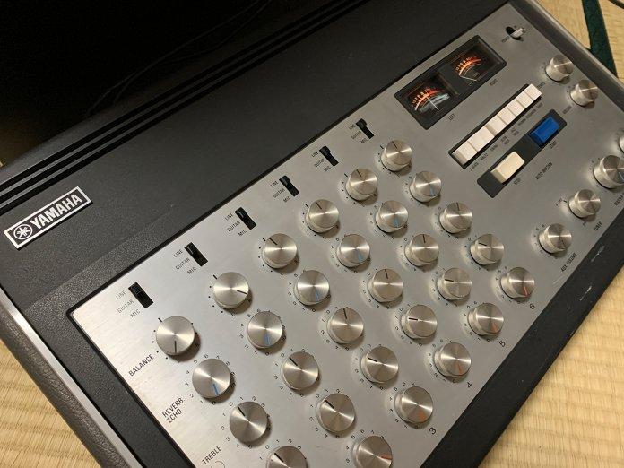 Analogue Sound With Vintage Mixer - Yamaha EM 170