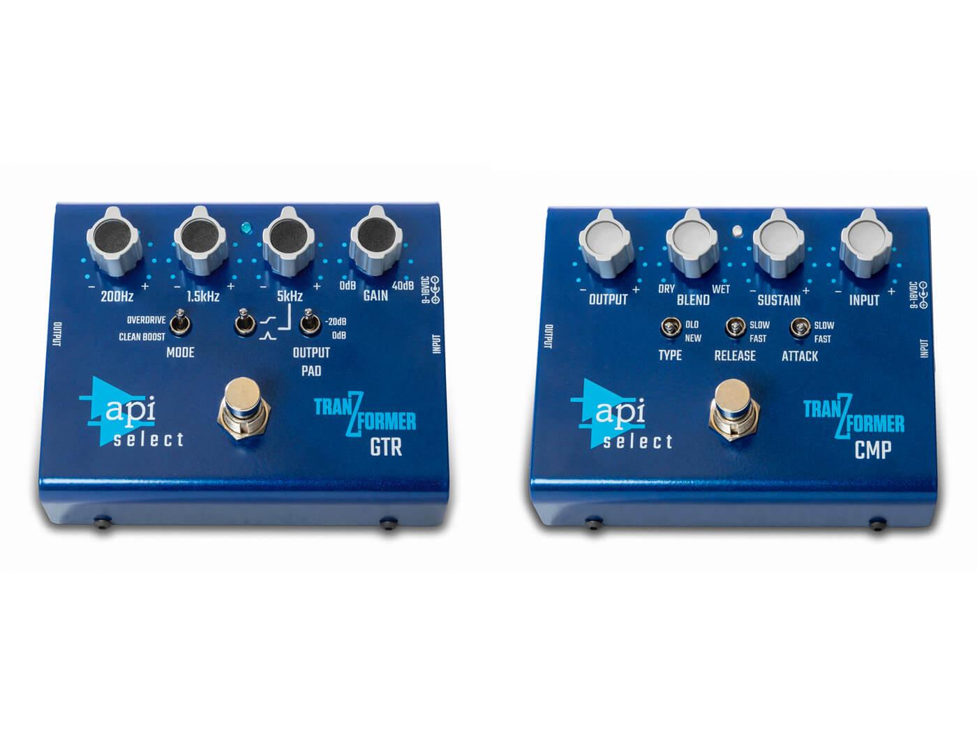 API Select TranZformer pedals