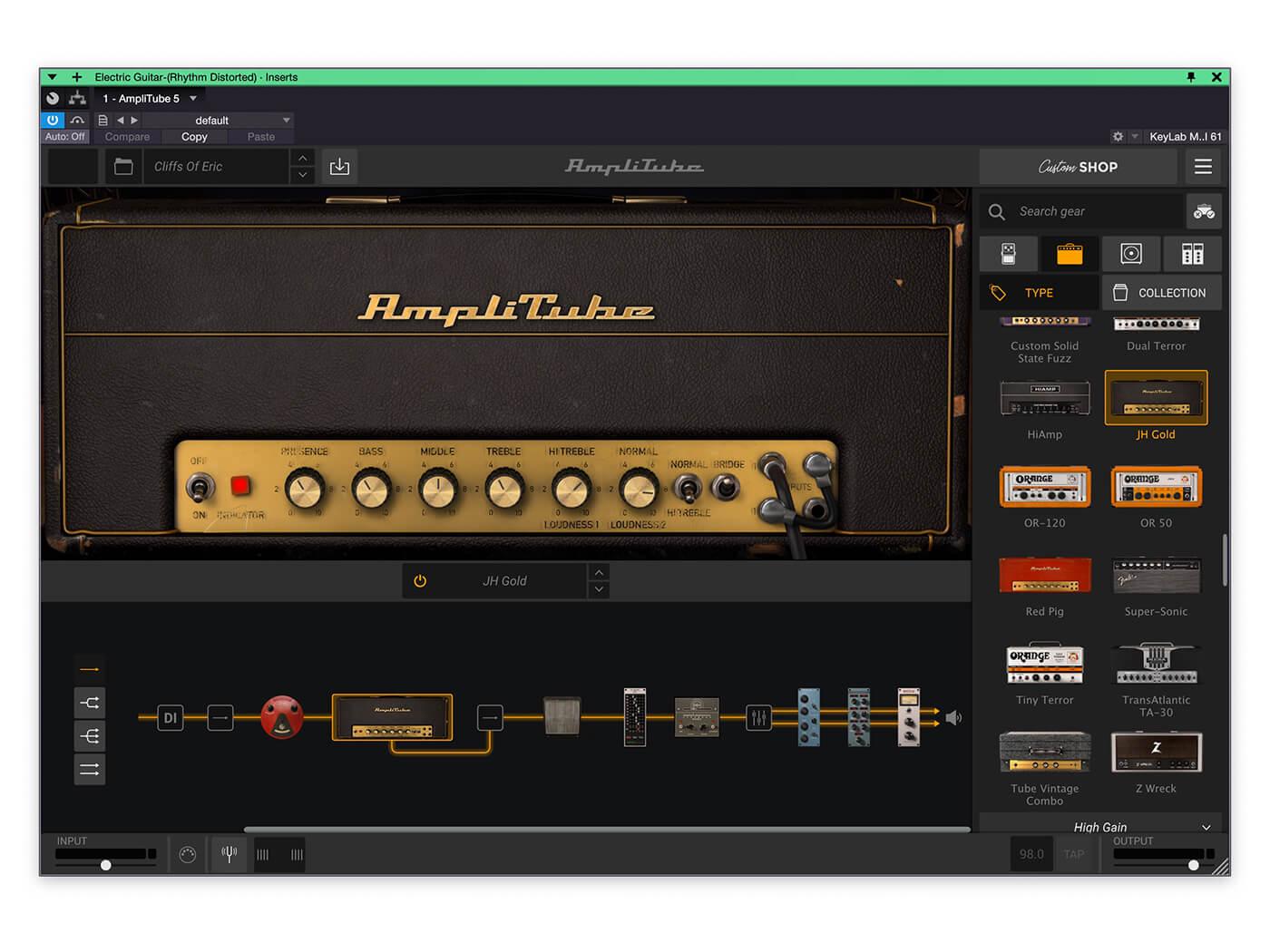 AmpliTube IK Total Studio