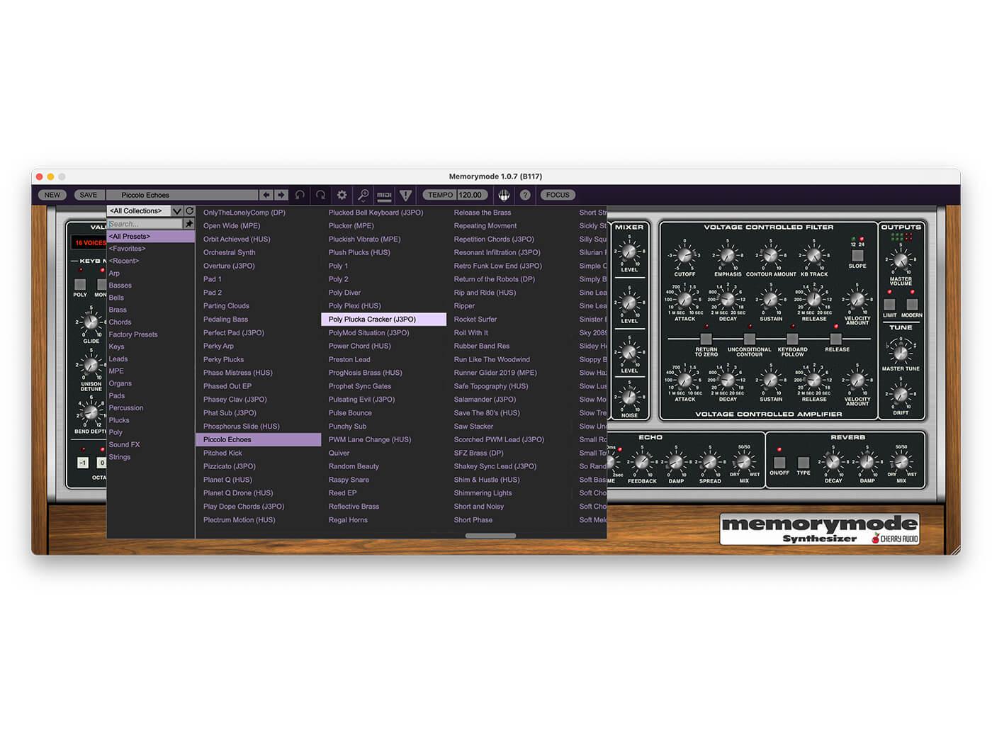 Cherry Audio Memorymode