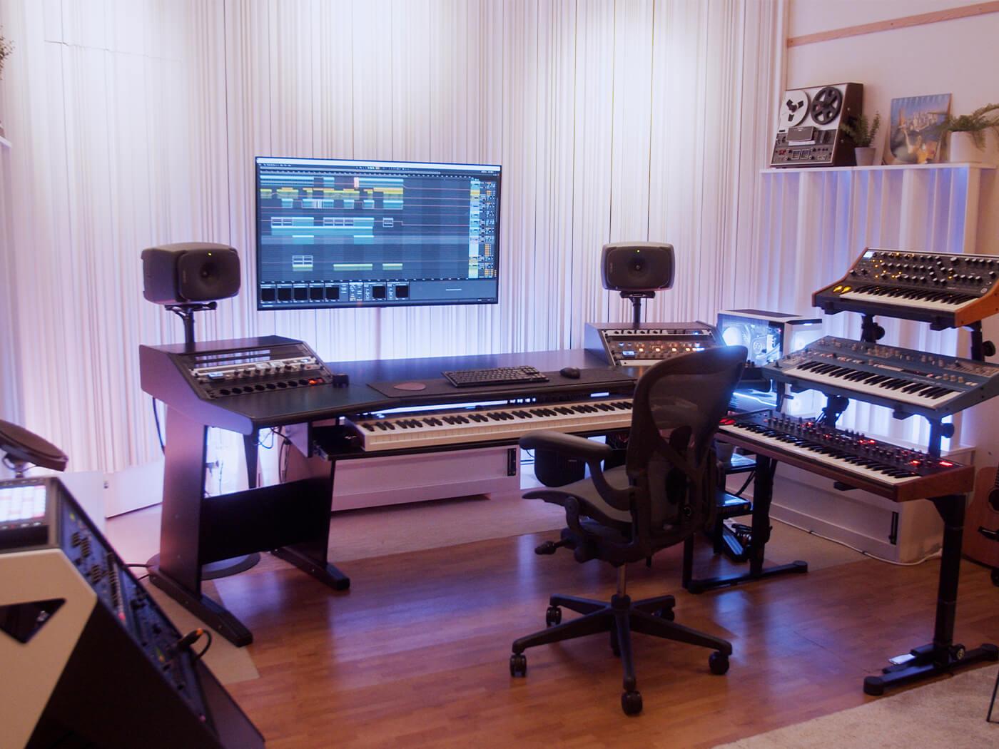 Oliver Nelson studio