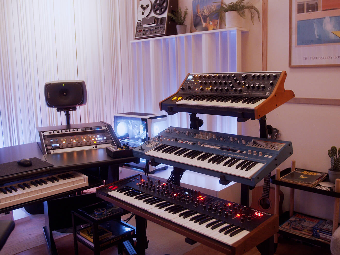Oliver Nelson synths