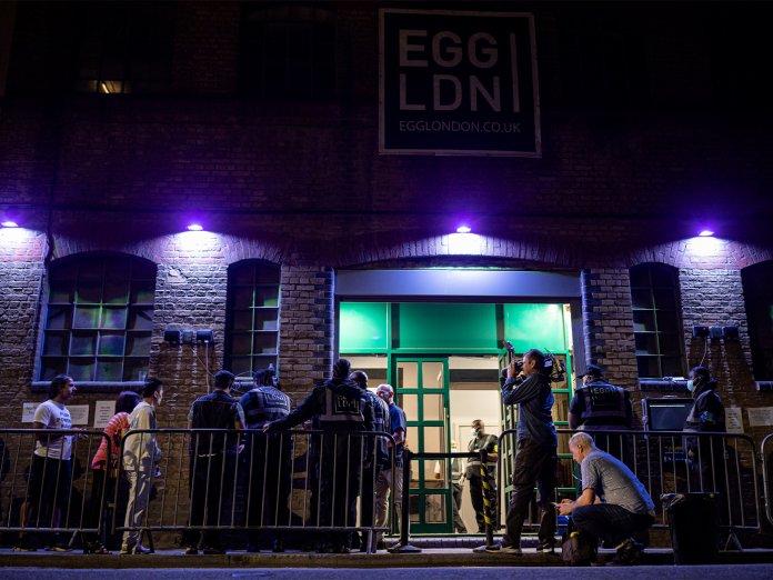 Egg in London