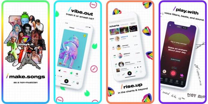 mayk.it App Store Screenshot