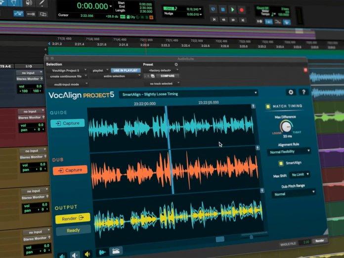 Synchro Arts Vocalign 5