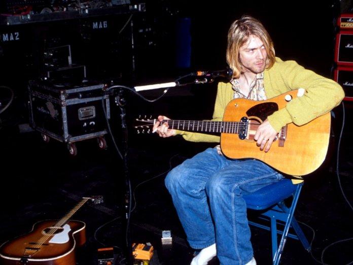 Kurt Cobain Nirvana New York