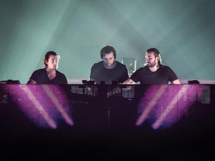 Swedish House Mafia onstage